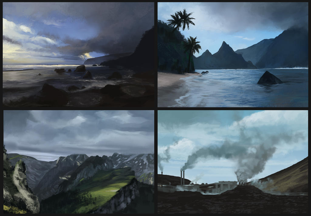 Landscape Studies by SebastianWagner
