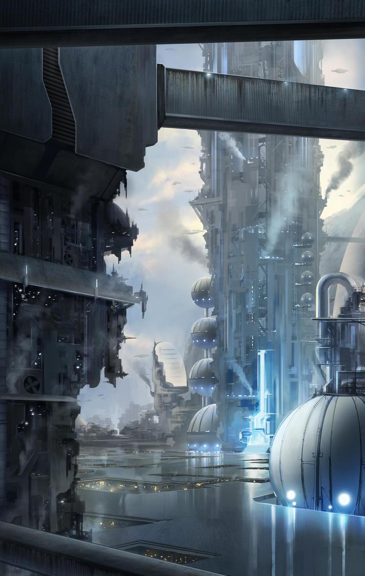 Upper City by SebastianWagner