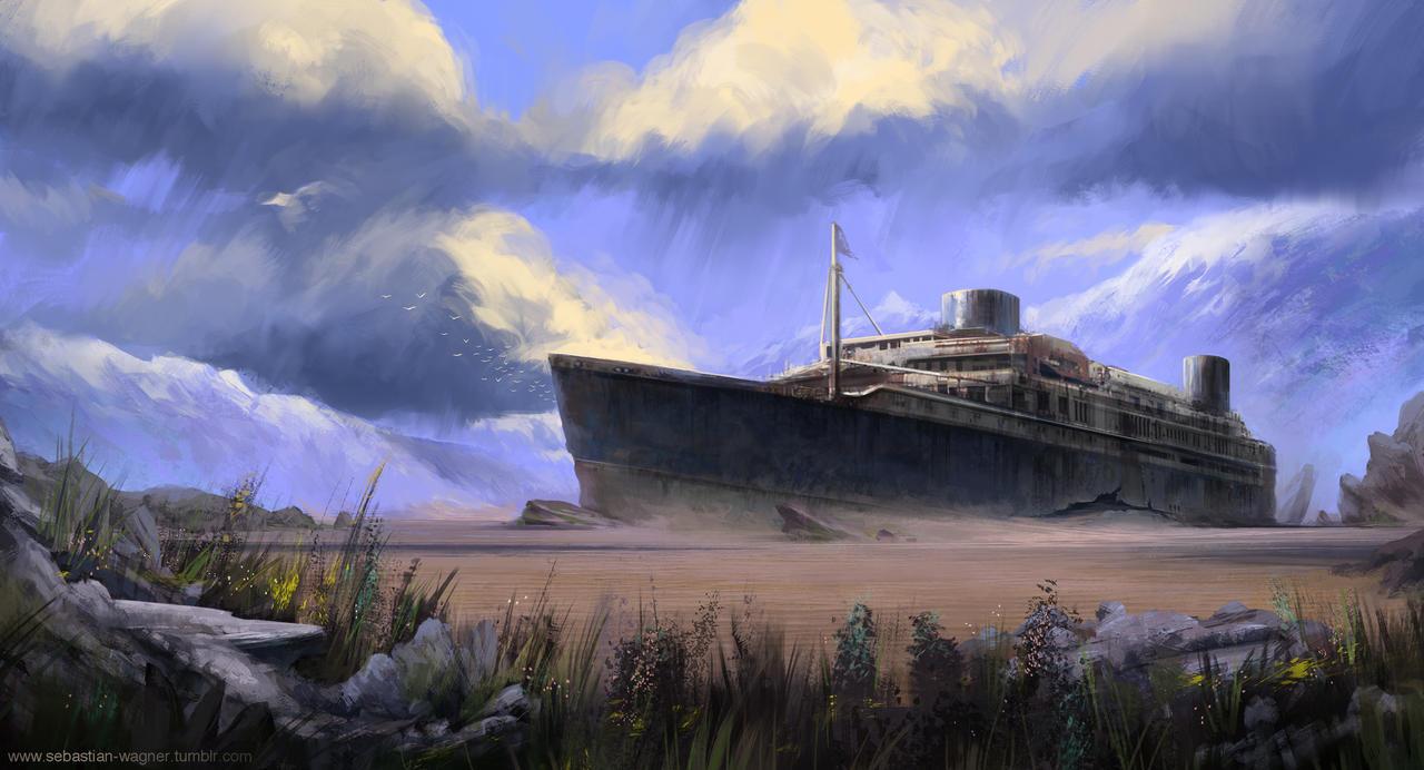 Wreck by SebastianWagner