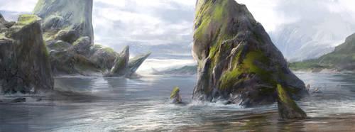 Fjord by SebastianWagner