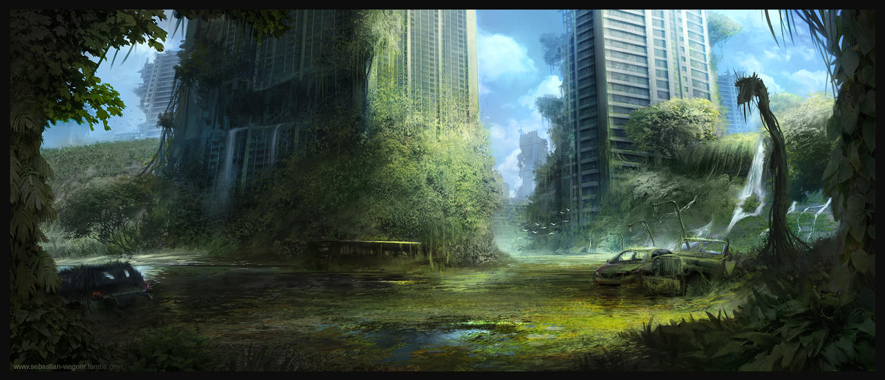 Abandoned City by SebastianWagner