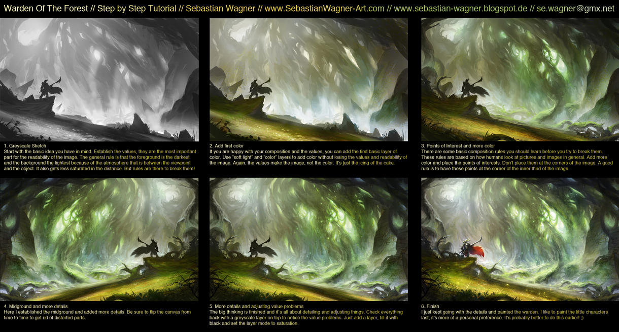 Tutorial - Warden Of The Forest by SebastianWagner