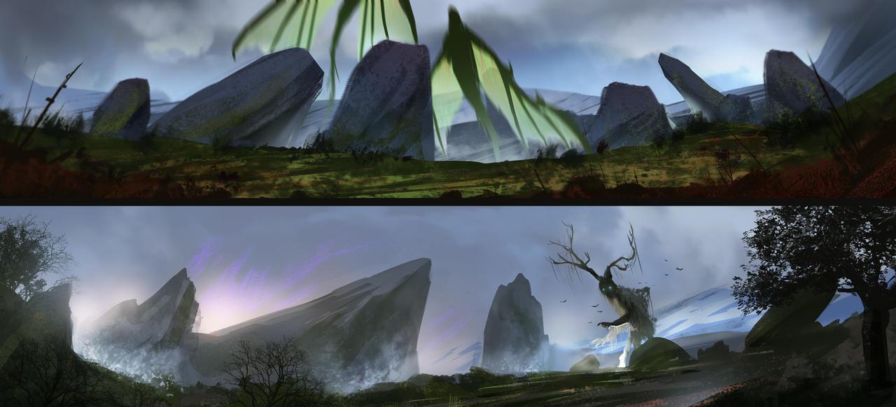 Landscape experiments by SebastianWagner