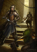 Goblin Mug by SebastianWagner