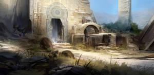 Ruins by SebastianWagner