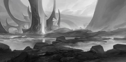 Hellgate by SebastianWagner