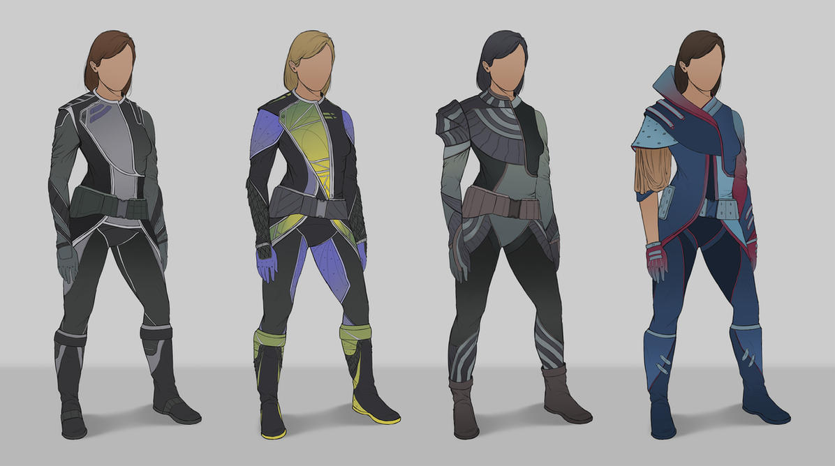 Sci-fi Suits by SebastianWagner