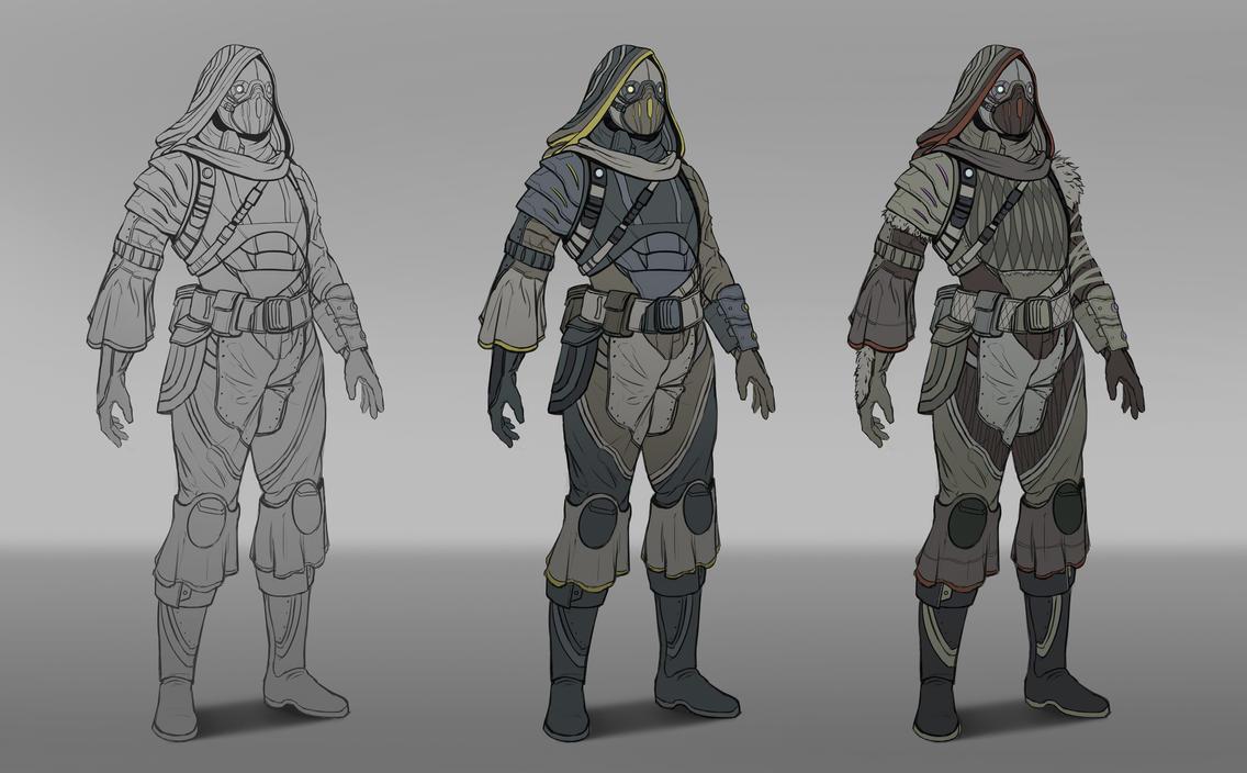 Nomad - Armor Design by SebastianWagner