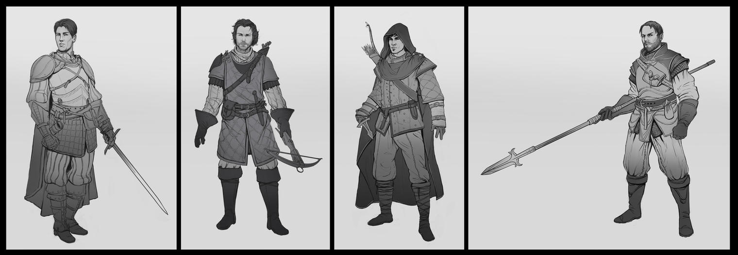 Character Concepts by SebastianWagner