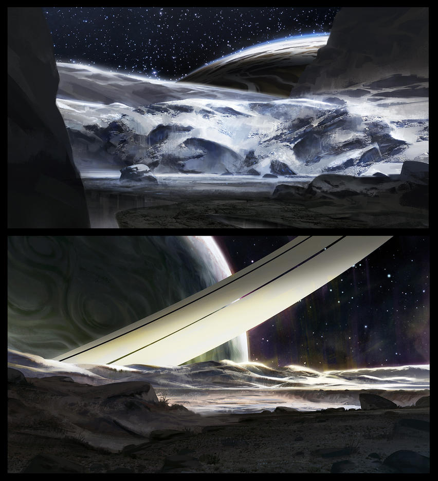 Space Environments by SebastianWagner
