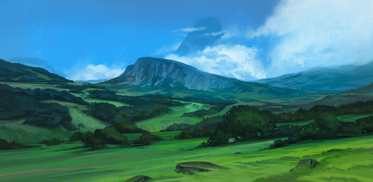 The Ridge by SebastianWagner