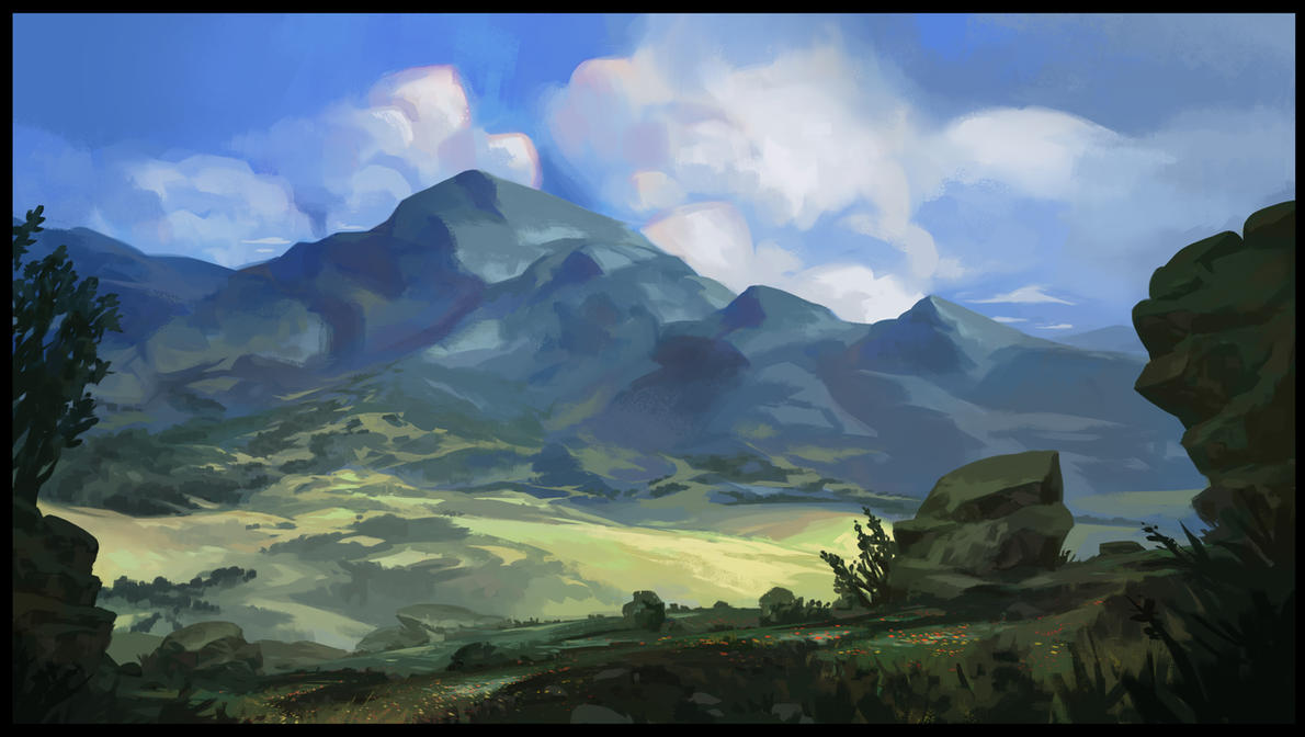 mountains by SebastianWagner