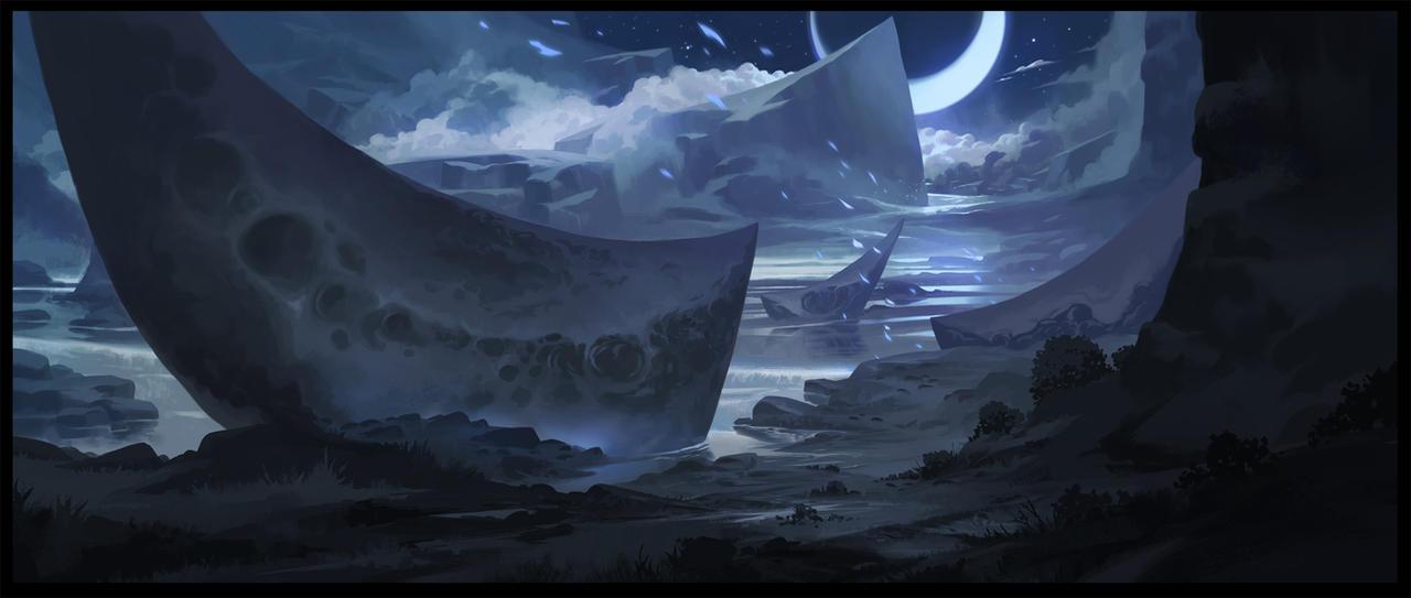 Moonstone Bay by SebastianWagner