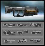 Sci-fi Rifles