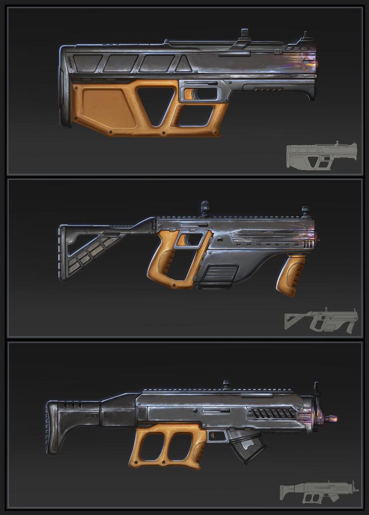 Sci-fi Rifles 3 by SebastianWagner