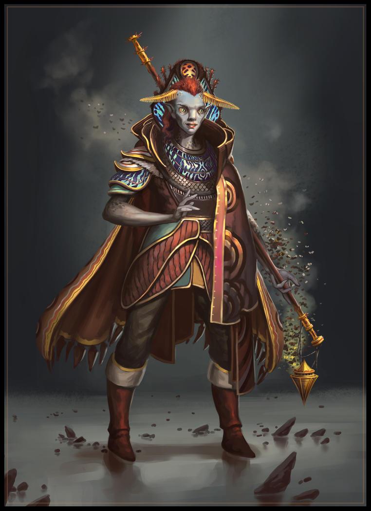 Enaeri - Shaman by SebastianWagner