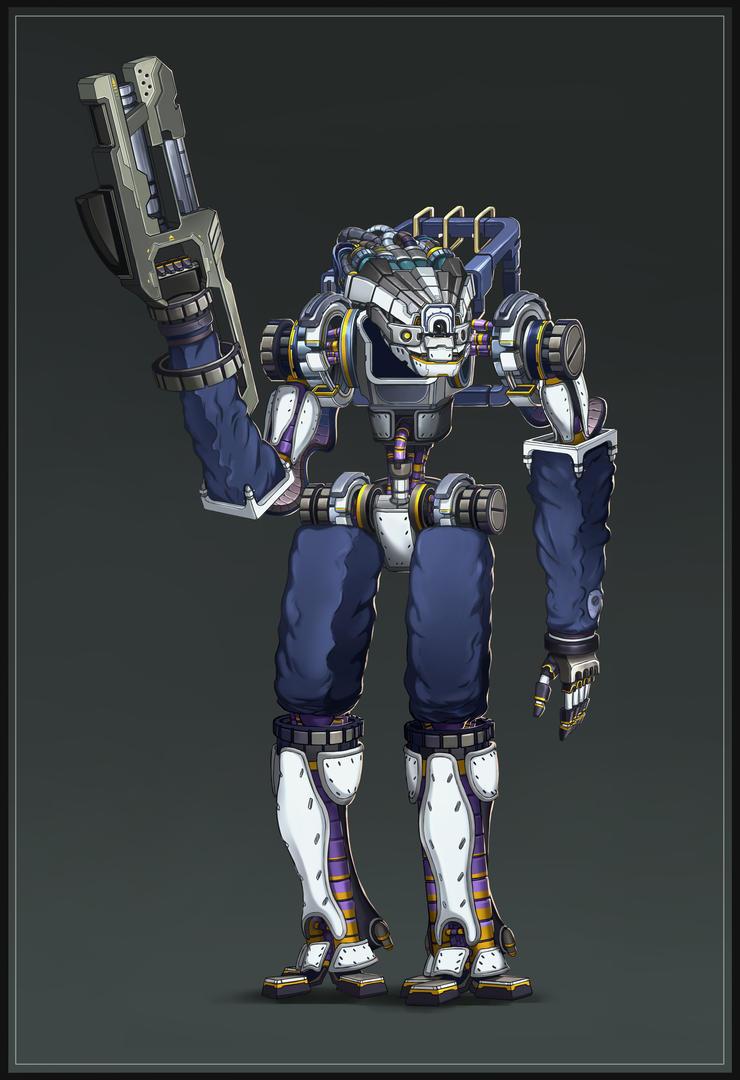 Robot by SebastianWagner