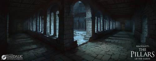 The Pillars of the Earth - Kingsbridge Cloister