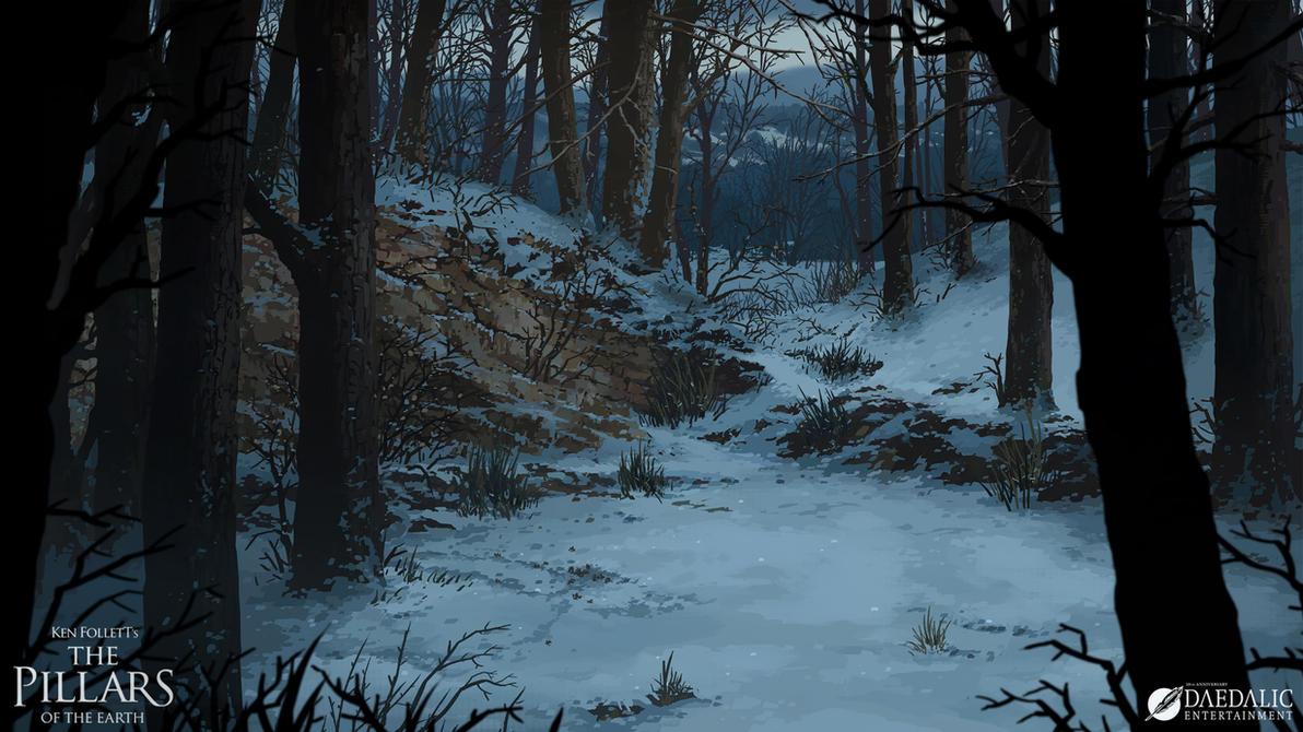 The Pillars of the Earth - Kingsbridge Forest by SebastianWagner