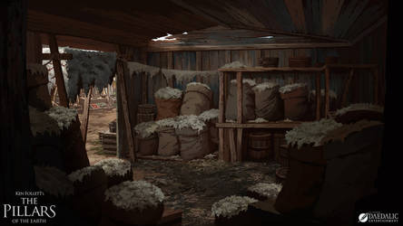 The Pillars of the Earth - Winchester Wool Stall by SebastianWagner