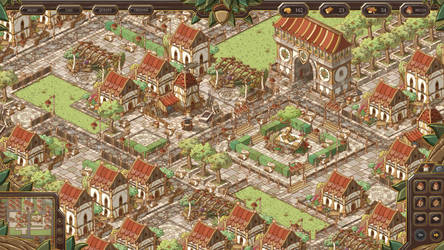Elven City - Game Concept by SebastianWagner