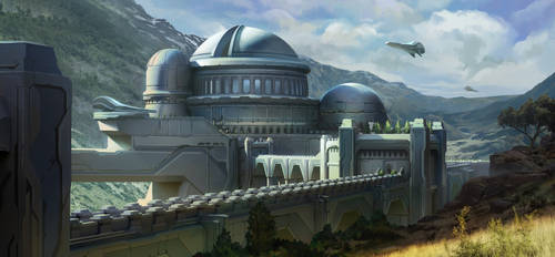 The Observatory by SebastianWagner
