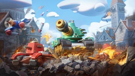 Tank Wars Toon