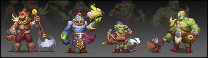 Casual Orc Squad