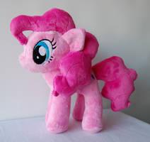 My Little Pony Pinkie Pie Plush by Rainbow-Kite