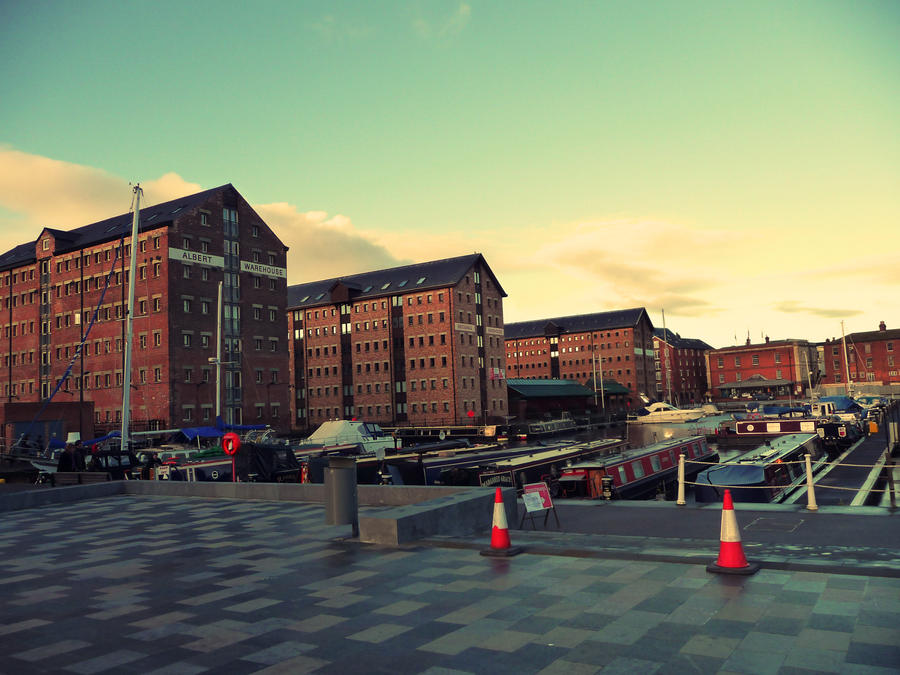 Gloucester Docks by sophhks