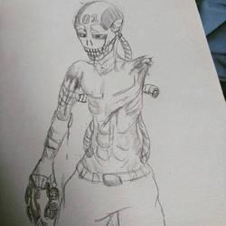 sketching, some people say its dark