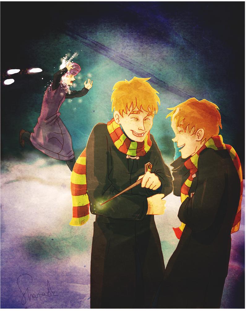 Weasleys by sharadaprincess