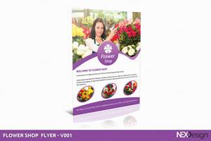 Flower Shop - Flyer V001 by asgroup
