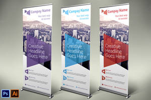Business Roll-up Banner - Vol 06 by asgroup