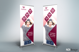 Fashion Roll-Up Banner - v45 by asgroup