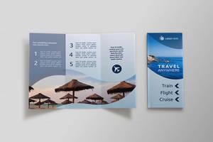Travel Tri-fold Brochure - Dal by asgroup