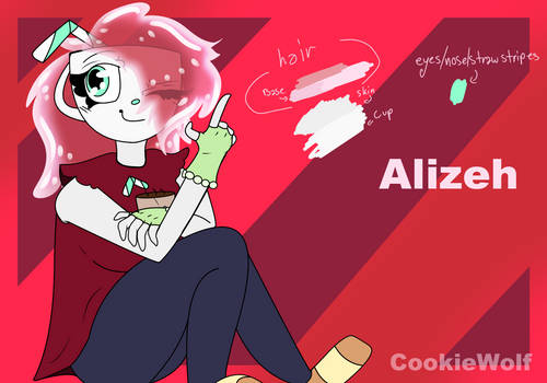 Alizeh - OC Reference Sheet