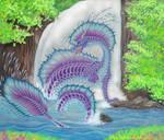 Water Elemental Dragoness
