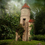 Fairy home by cindysart-stock