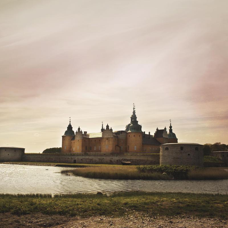 cindysart-stock castle in Kalmar Sweden by CindysArt-Stock
