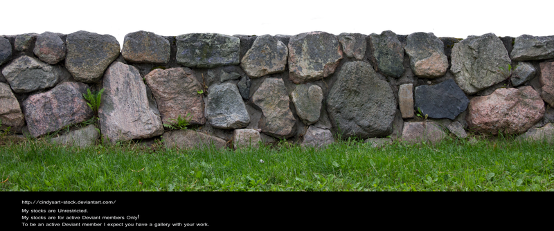 Stone fence by cindysart-stock by CindysArt-Stock on ...