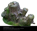 Stump 2 By Cindysart-stock