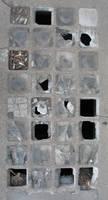 broken glass tiles