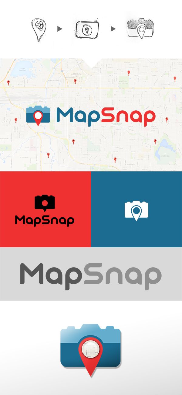 Map Snap Logo by DougFromFinance