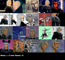 Xemnas Icons xD by fluffmuff95
