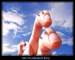 dactylosaurus rex by teekoucha