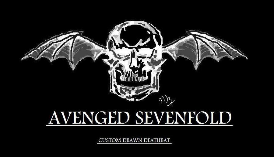 custom drawn A7x deathbat by darkness68 on DeviantArt