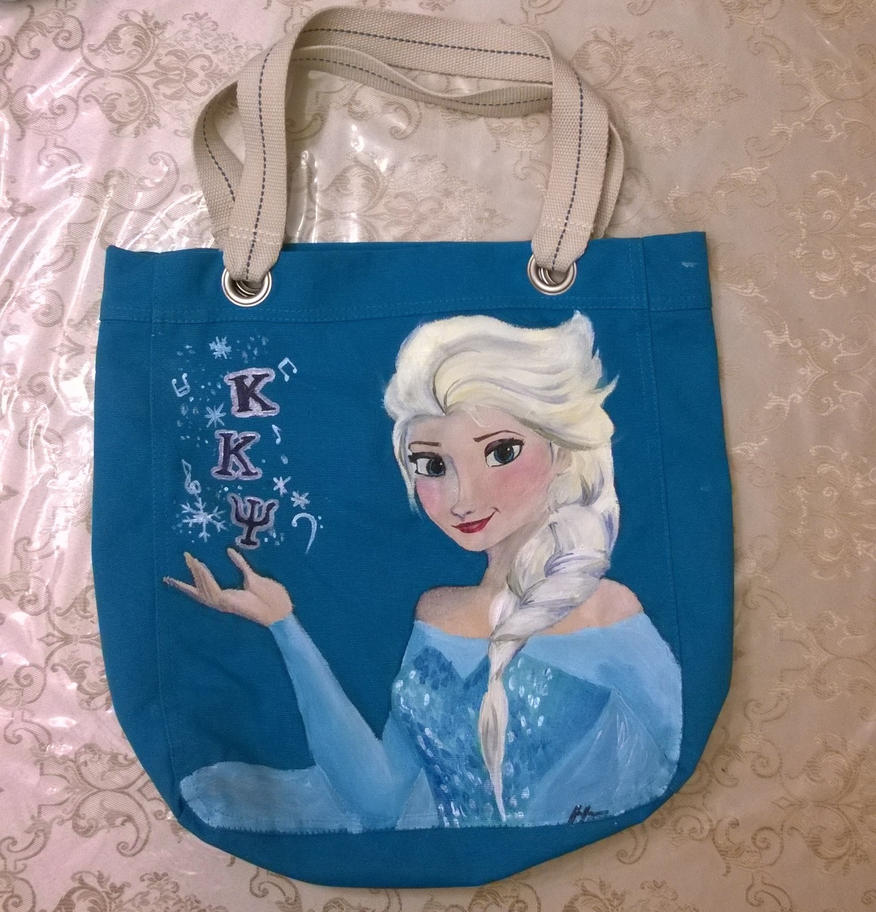 Kappa Kappa Psi/Elsa bag Side 2 by songbirdholly