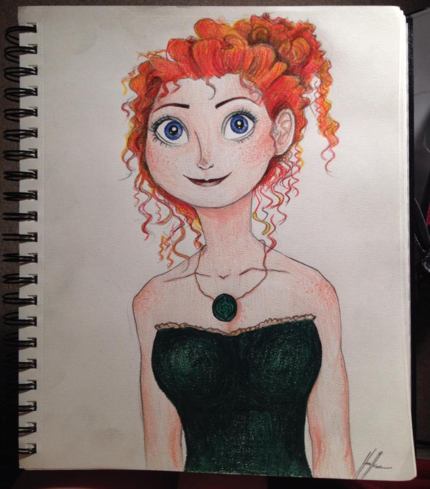 Modern Merida sketch by songbirdholly