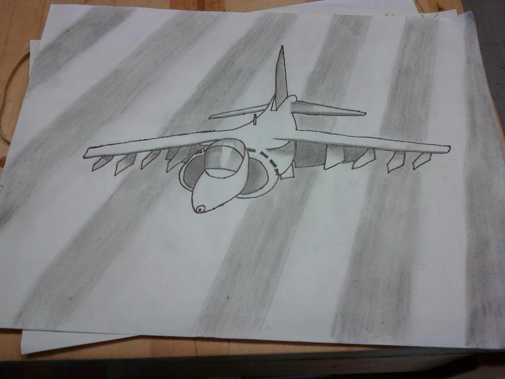 Harrier Jump Jet by jd896